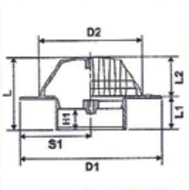 No. 26 Rain Water Outlet - Diagram