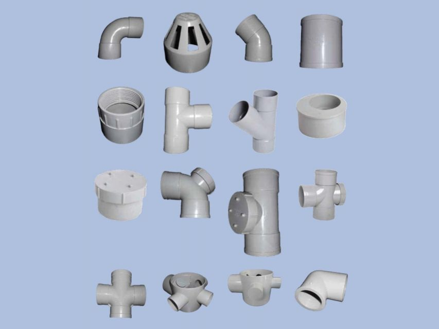Group of MM Fittings by Juma Plastic, Dubai UAE.