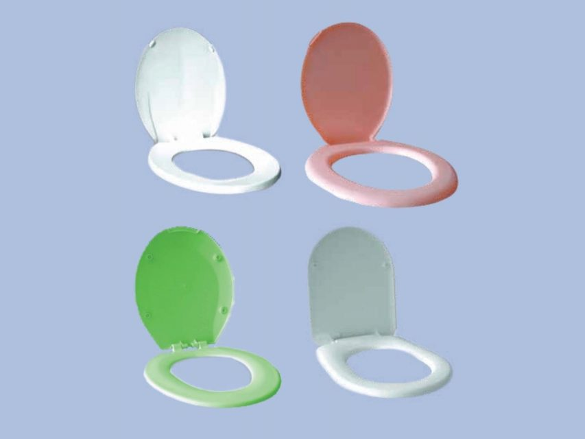 Group of uPVC WC Seat Covers by Juma Plastic, Dubai UAE.